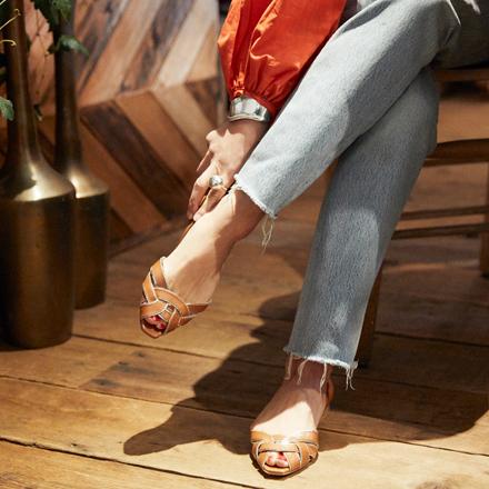 靴で自分を使い分ける。女性は何面性もあっていい。