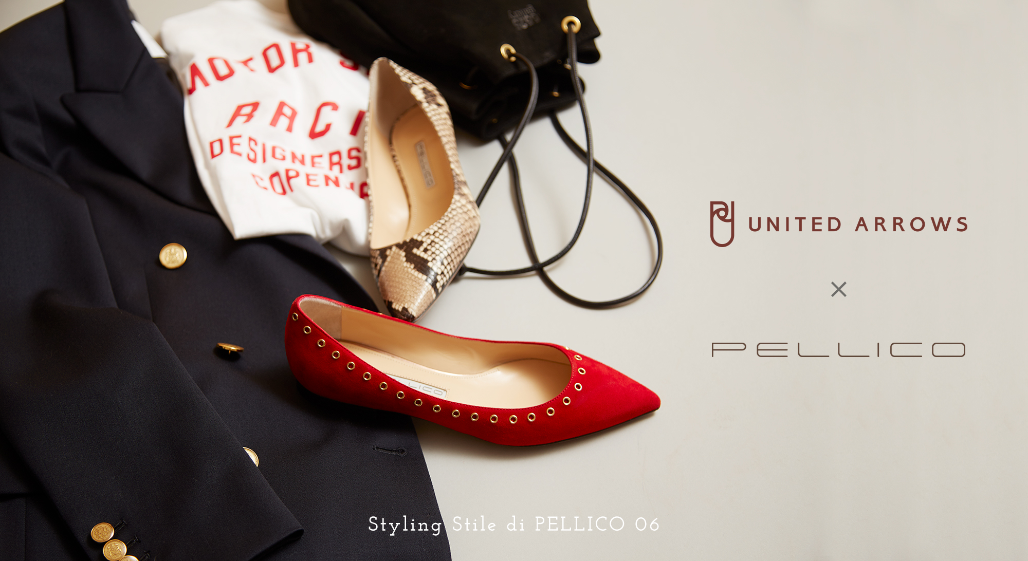 UNITED ARROWS×PELLICO<br>「Playful Basic」