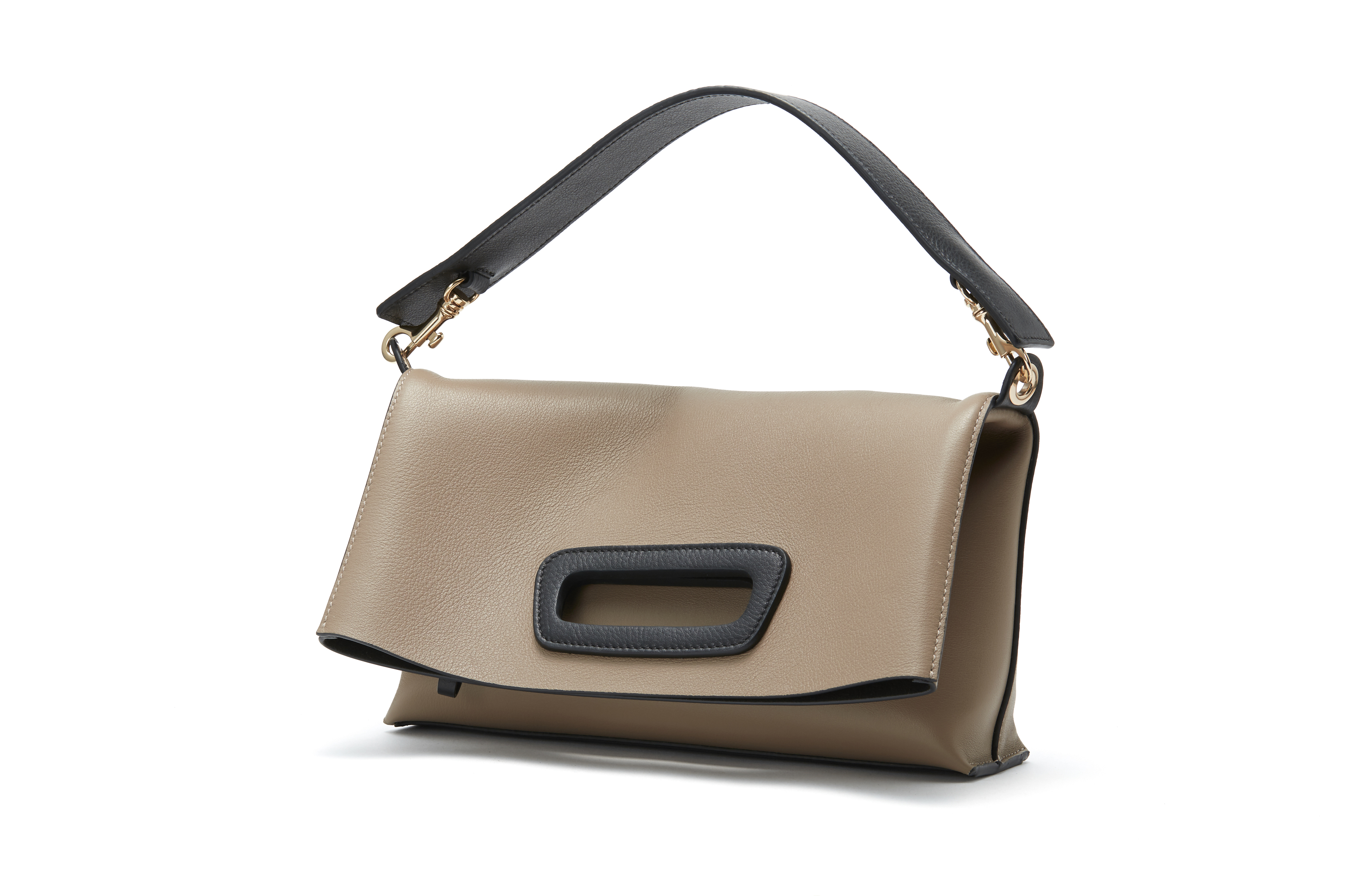PELLICO BAG PI18-5032 ANELLI FOLDED MINI / TAUPE