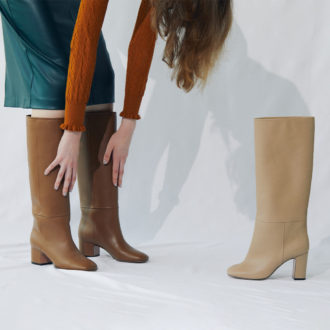 Long boots to wear this winter